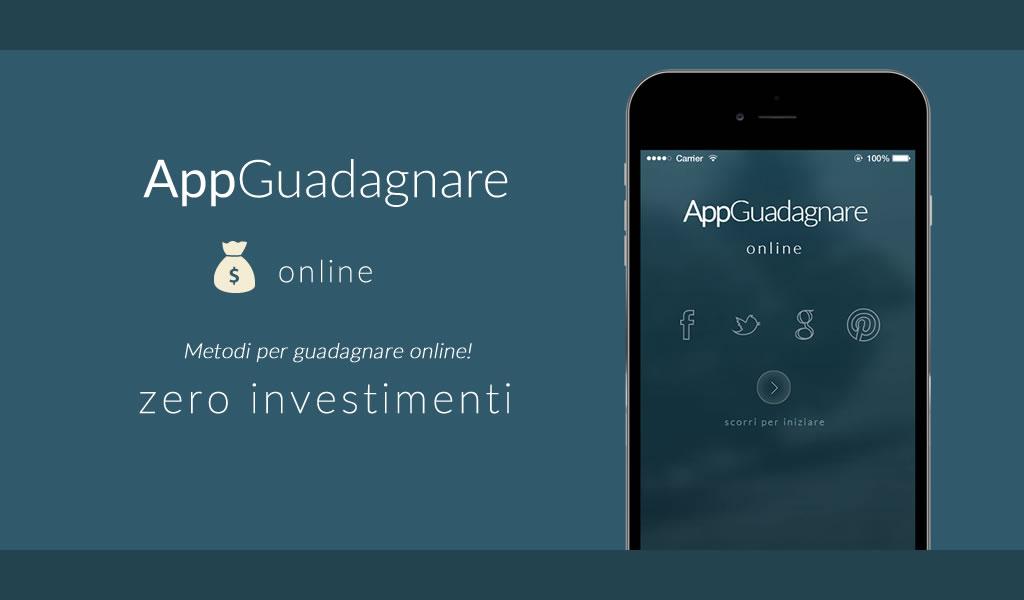 Guadagnare soldi online app