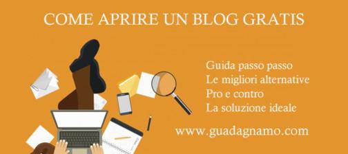 come aprire un blog gratis