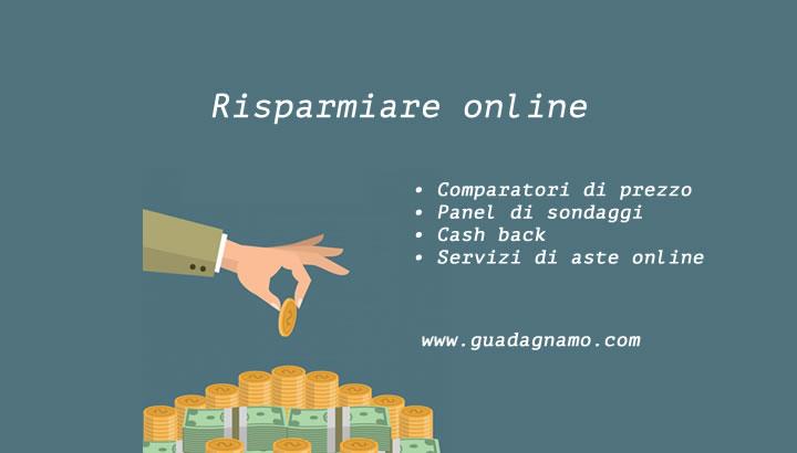 risparmiare online