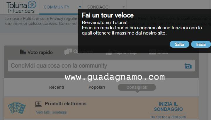 Tour virtuale di Toluna